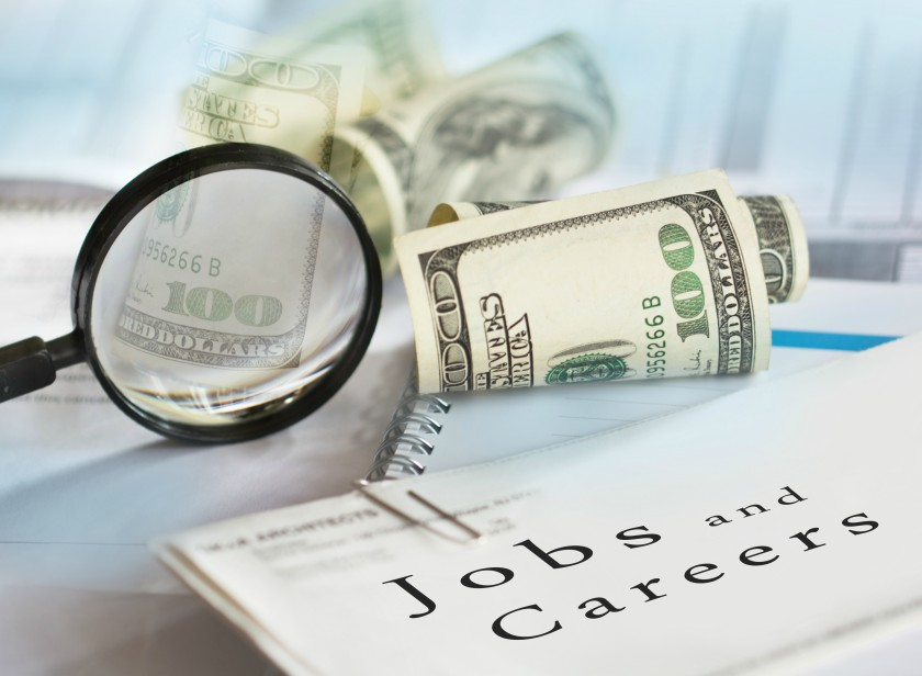 Money and job search