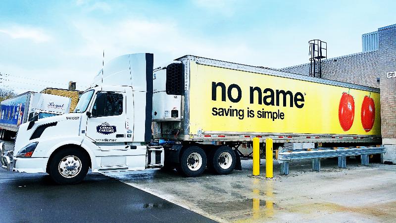 No Frills truck