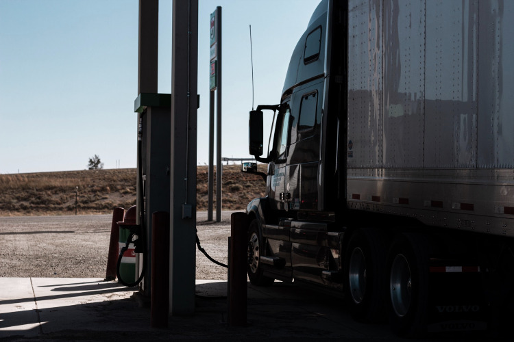 truck fuelling